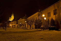 Cidade histórica Kremnica Imagem de Stock Royalty Free