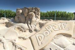 Cidade Hurghada da areia foto de stock royalty free