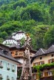 Cidade icónica de Hallstatt Áustria Fotografia de Stock Royalty Free