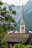 Cidade icónica de Hallstatt Áustria Imagem de Stock Royalty Free