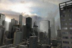 Cidade imaginária 10 Foto de Stock