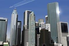 Cidade imaginária 21 Imagem de Stock Royalty Free