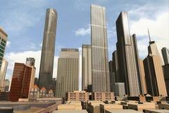 Cidade imaginária 31 Imagens de Stock Royalty Free