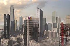 Cidade imaginária 6 Imagens de Stock Royalty Free