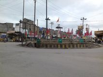 Cidade india de Raigarh Imagem de Stock