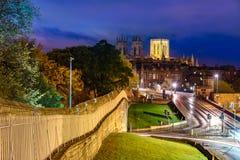 Cidade Inglaterra de York Foto de Stock