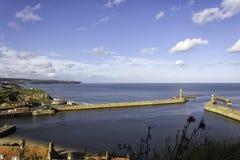 Cidade inglesa do beira-mar Imagem de Stock Royalty Free