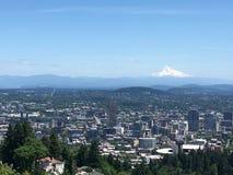 Cidade inteira de Portland fotografia de stock royalty free
