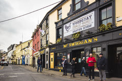 Cidade Ireland de Galway Imagens de Stock