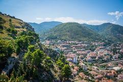 Cidade Itália de Cefalu imagens de stock royalty free