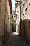 Cidade italiana fotografia de stock