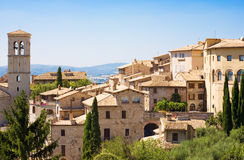 Cidade italiana tradicional Fotografia de Stock Royalty Free