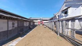 Cidade japonesa do castelo vídeos de arquivo