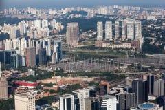 Cidade Jardim galleria och Brooklin Sao Paulo Arkivfoton