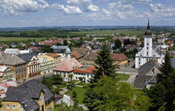 Cidade Javornik Fotos de Stock Royalty Free