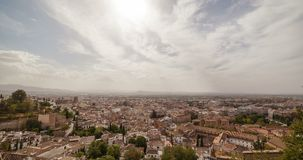 Cidade 5K de Granada video estoque