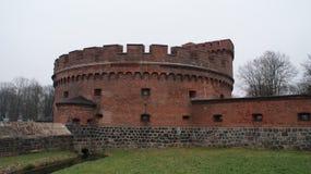Cidade Kaliningrad do russo, vista e arquitetura Fotos de Stock Royalty Free