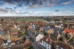 Cidade kent Inglaterra do sanduíche em casa de Saint real Georges do campo de golfe aberto fotografia de stock royalty free