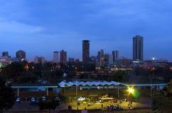 Cidade Kenya de Nairobi Fotos de Stock Royalty Free