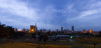 Cidade Kenya de Nairobi Fotografia de Stock