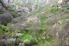 Cidade Khndzoresk da caverna Foto de Stock Royalty Free