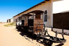 Cidade Kolmanskop em Namíbia Imagens de Stock
