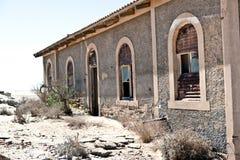 Cidade Kolmanskop em Namíbia Foto de Stock
