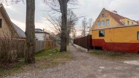 Cidade Kopli distric de Estônia Tallin imagem de stock royalty free