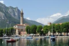 Cidade Lecco Imagens de Stock Royalty Free