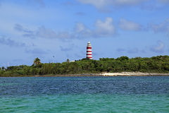 Cidade LighthouseAbacos da esperança, Bahamas Imagens de Stock