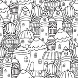 Cidade mágica Imagem de Stock Royalty Free