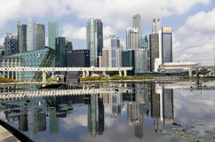 Cidade maravilhosa de Singapore Fotografia de Stock