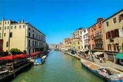 Cidade maravilhosa de Veneza, Itália Fotos de Stock Royalty Free