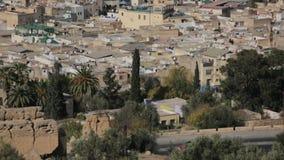Cidade Marrocos de Fes video estoque