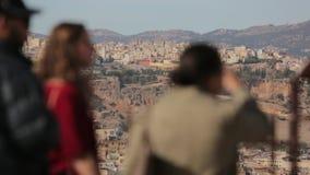 Cidade Marrocos 4 de Fes video estoque