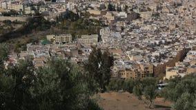 Cidade Marrocos 3 de Fes vídeos de arquivo