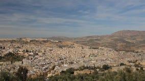 Cidade Marrocos 6 de Fes vídeos de arquivo