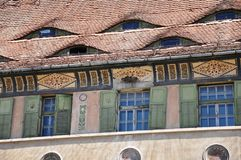 Cidade medieval Foto de Stock