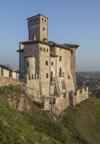 Cidade medieval Cividale fotografia de stock