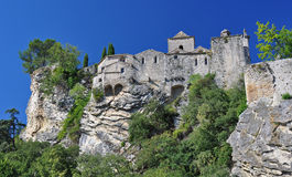 Cidade medieval da Vaison-La-alface romana Foto de Stock Royalty Free