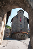 Cidade medieval de Albertville foto de stock