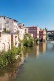 Cidade medieval de Alby em França Fotos de Stock Royalty Free