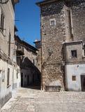 Cidade medieval de Norma em Itália Foto de Stock