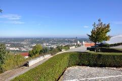 Cidade medieval de Orem, Portugal Imagem de Stock Royalty Free