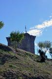 Cidade medieval de Orem, Portugal Imagem de Stock