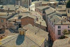 Cidade medieval de Orvieto, Úmbria, Itália, Europa Fotografia de Stock Royalty Free