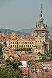 Cidade medieval de Sighisoara Fotos de Stock