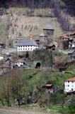 A cidade medieval de Vranduk Fotos de Stock Royalty Free