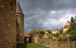 Cidade medieval Rocamadour Foto de Stock Royalty Free