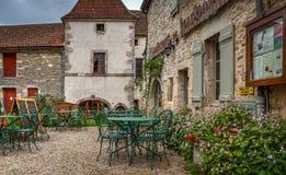 Cidade medieval Rocamadour Imagem de Stock Royalty Free